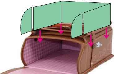 横山ランドセルの型崩れ対策のフルフレーム仕様