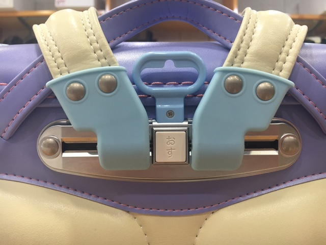 ランドセルのスライド背カンが一番狭い調節になっている